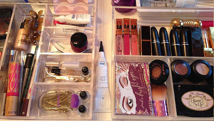 GET ORGANIZED! MAKE-UP DRAWER MAKEOVER