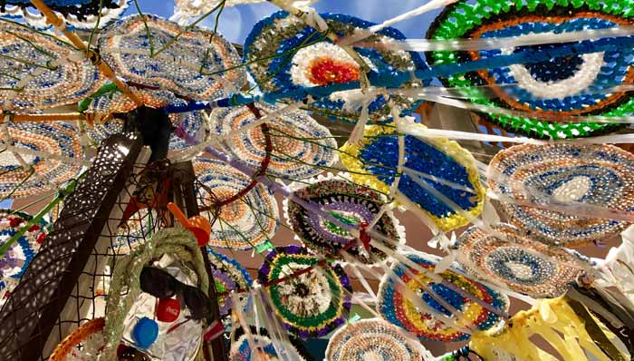JUNK AS ART – – RECYCLE YOUR TRASH